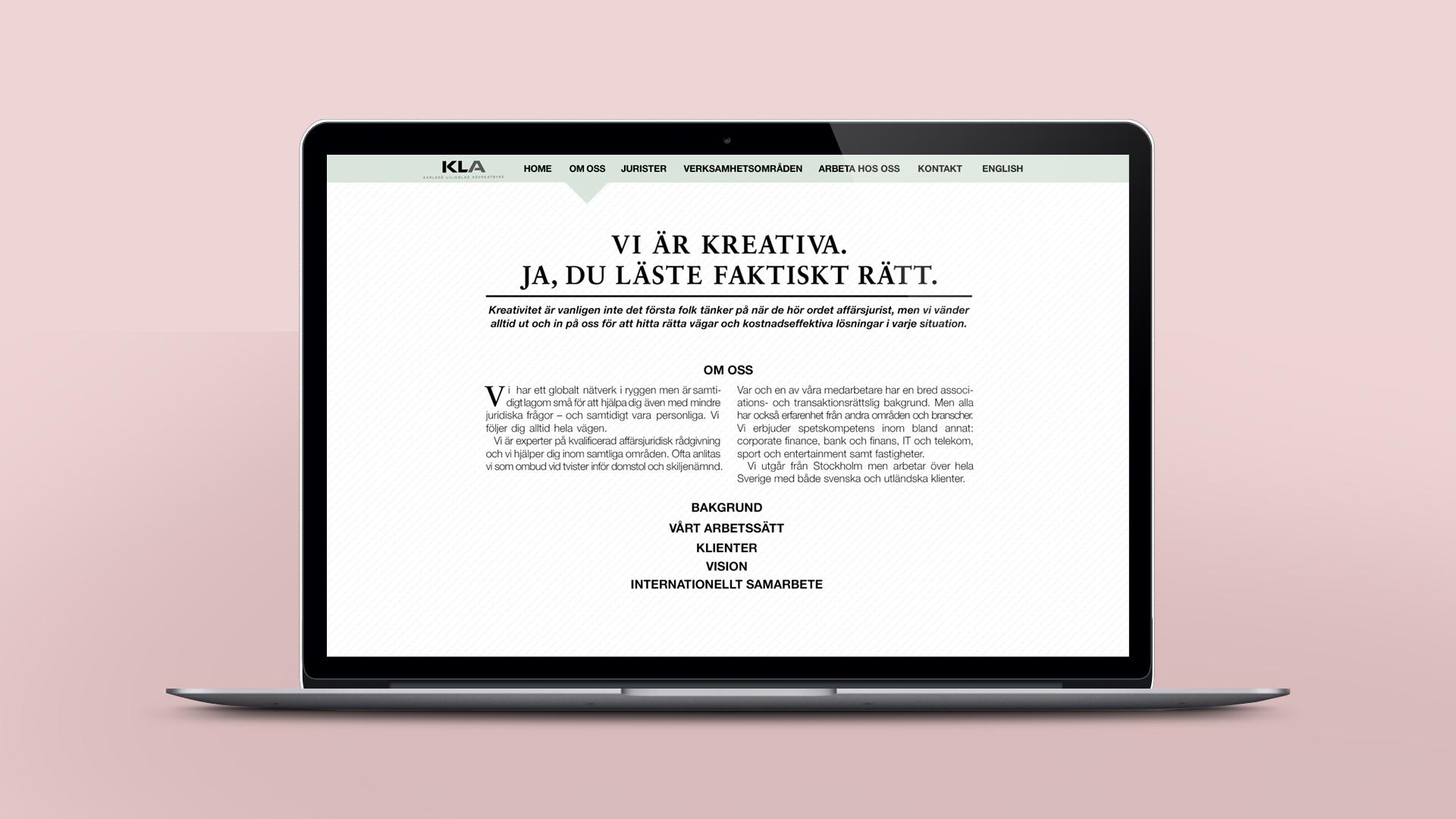 KLA Web Design