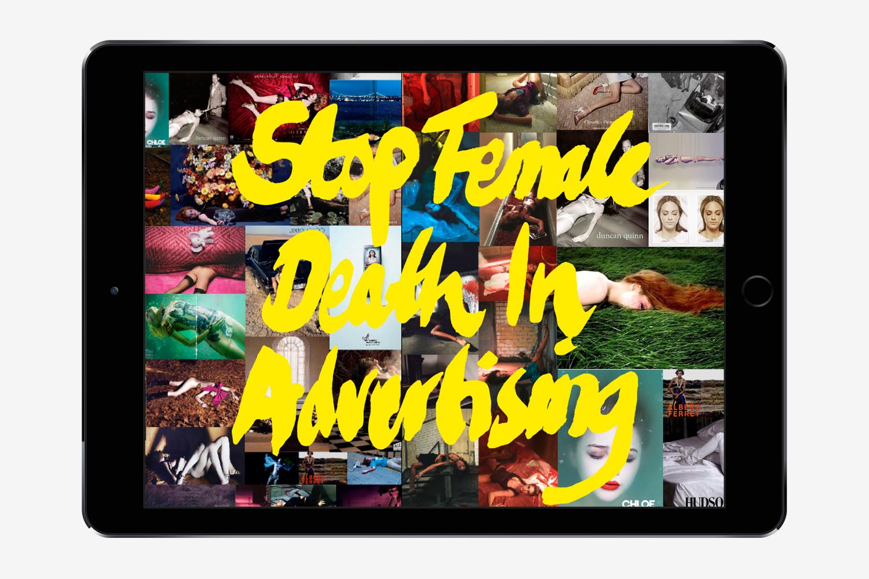Stop Female Death in Advertising